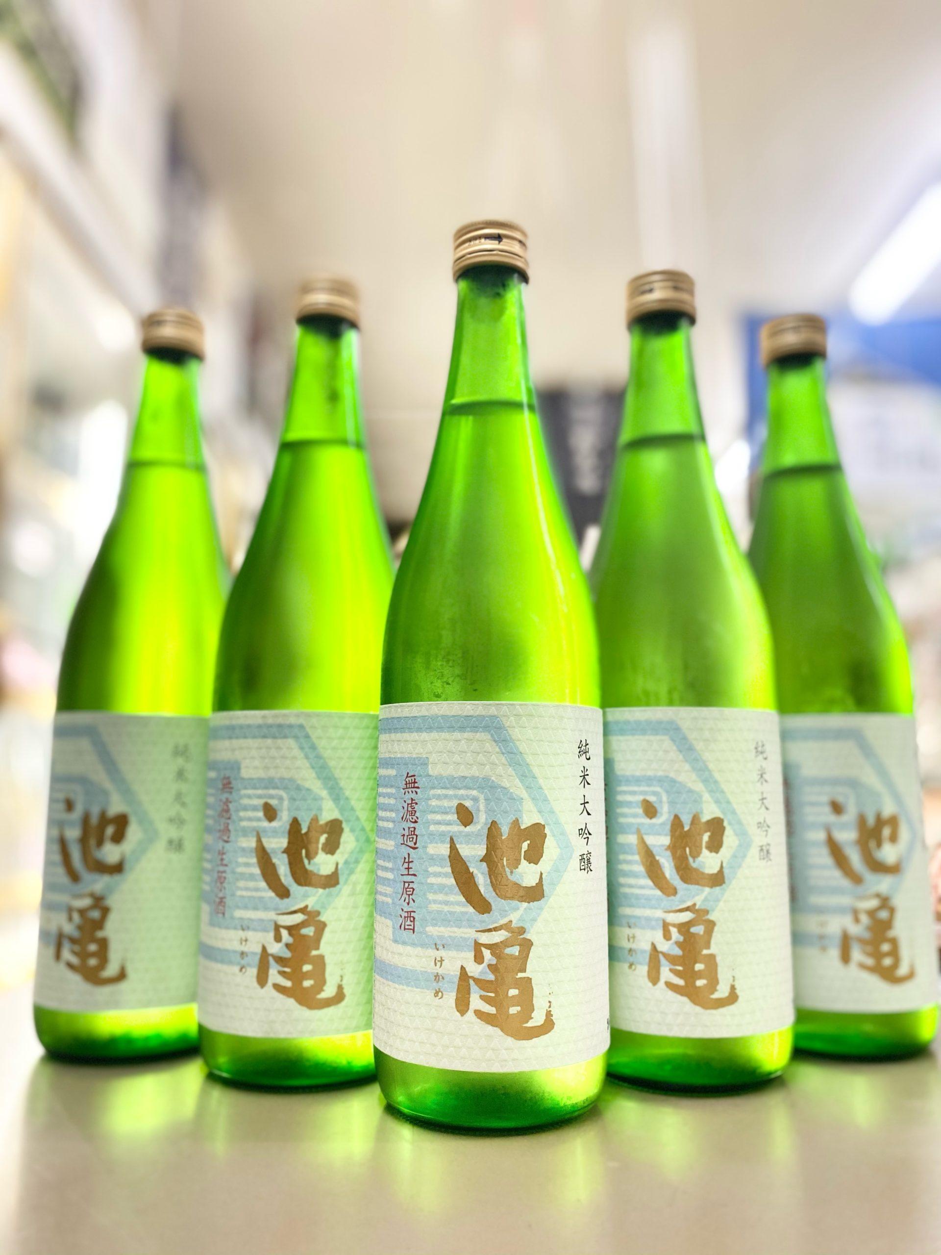 池亀 純米大吟醸無濾過生原酒